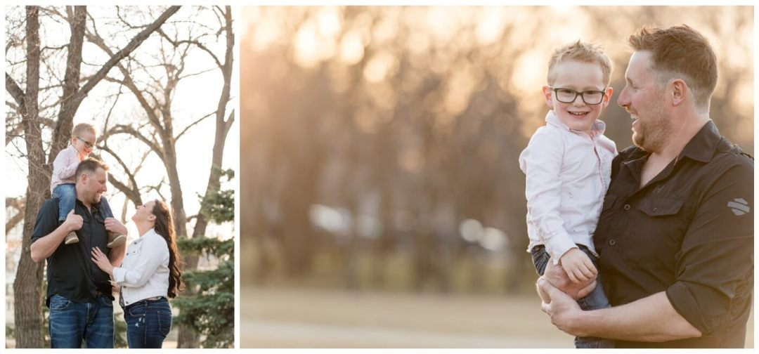Travis & Coralynn Regina Engagement Session- with family at Wascana Park