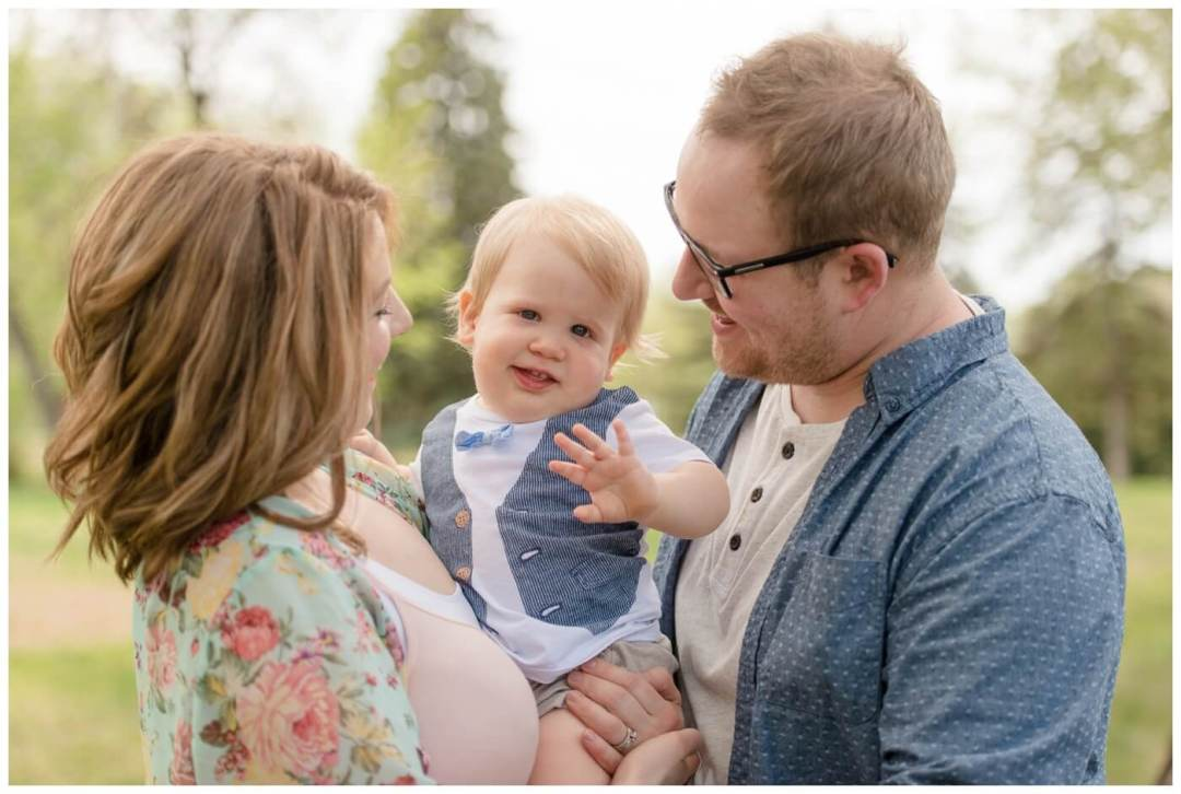 Regina Family Photographer - Oliver is One - Rotary Park