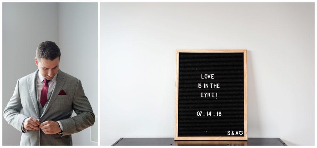 Regina Wedding Photographer - Andrew-Stephanie- Groom Prep - Love is in the Eyre