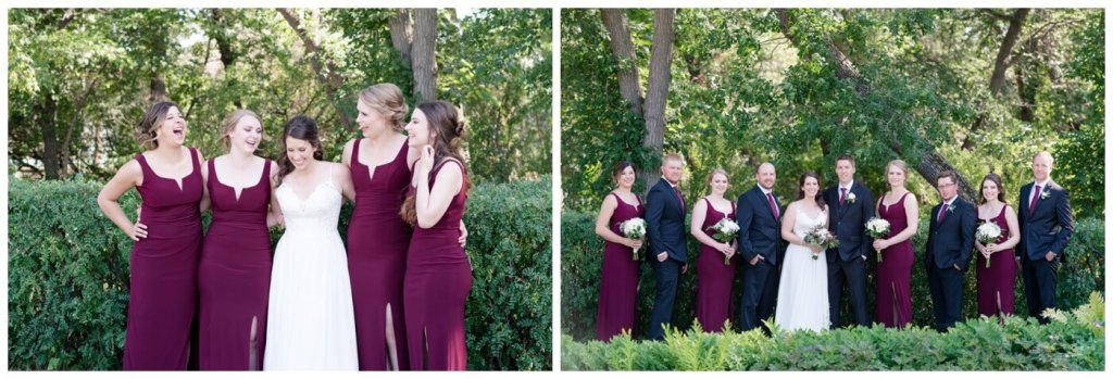 Regina Wedding Photography - Cory-Kelsey - Bridal Party Formals