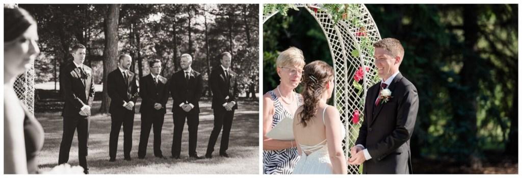 Regina Wedding Photography - Cory-Kelsey - Outdoor Ceremony - Conexus Arts Centre