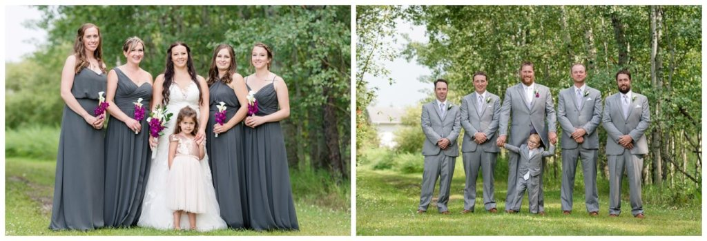 Regina Wedding Photography - Travis-Coralynn - Porcupine Plain - Bridal Party formal