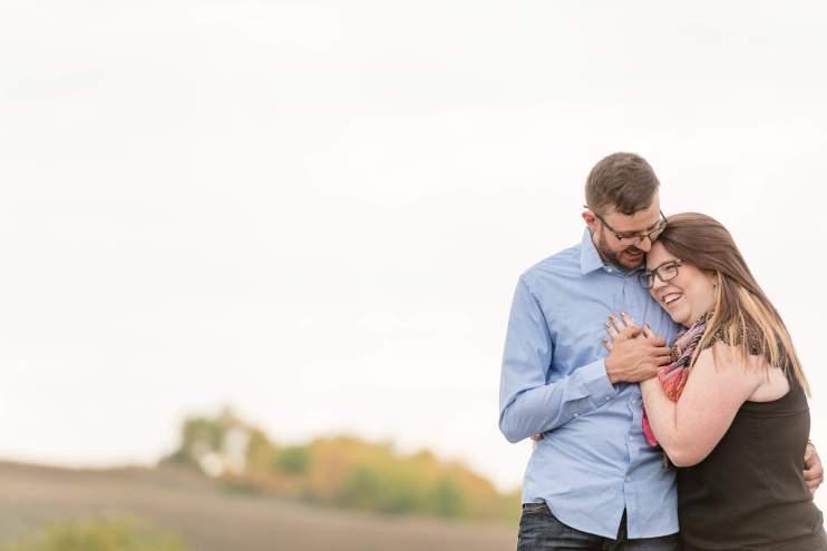 Allie & Nathan - Acreage outside of Regina - Engagement Session