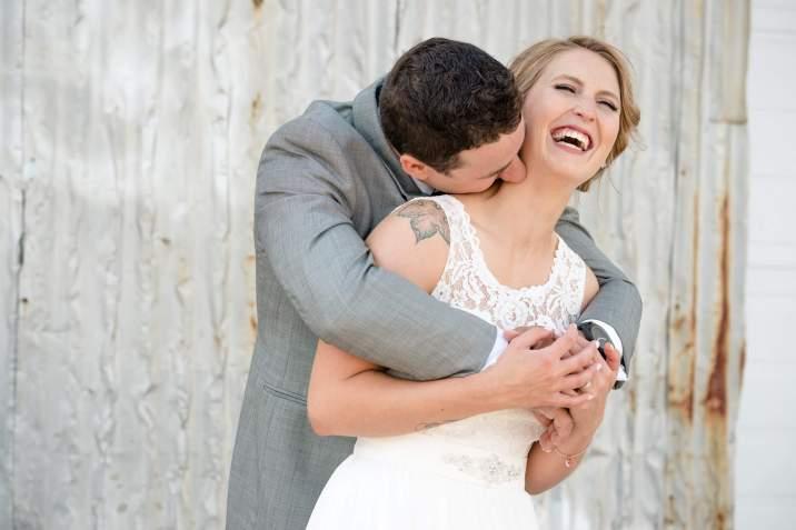 Andrew & Stephanie - Neck Kisses
