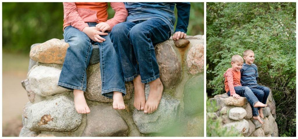 Regina Family Photographer - Favel Family - Ty-Jace - McCaig Gardens