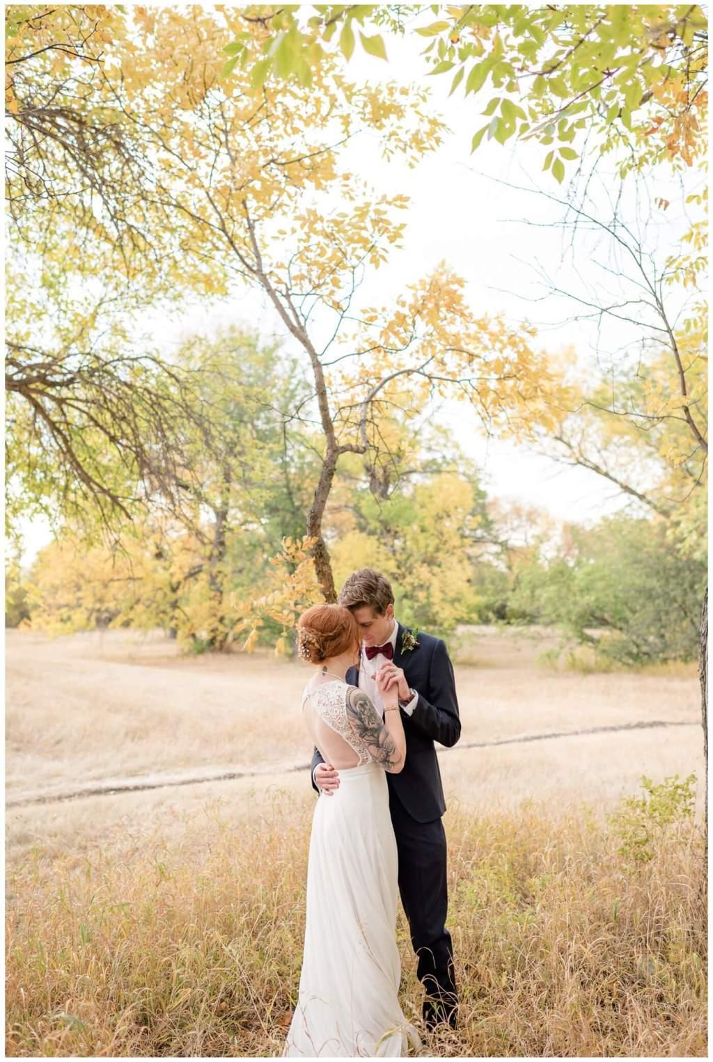 Regina Wedding Photographer - Cole-Alisha - Fall Wedding - Tall Grass - Dancing