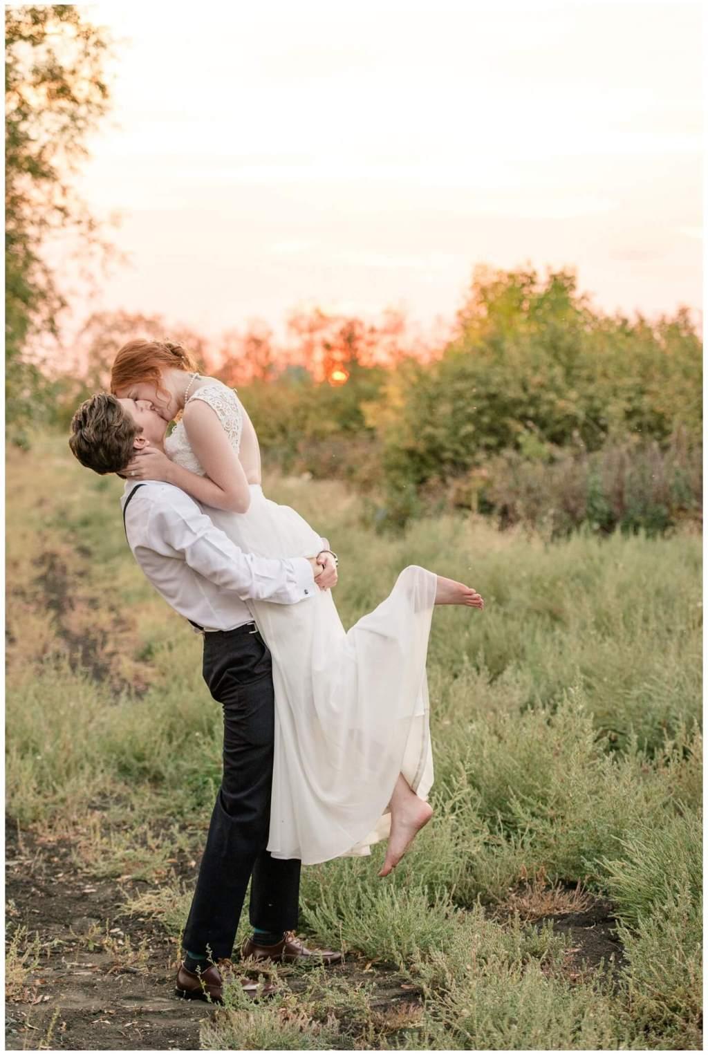 Regina Wedding Photographer - Cole-Alisha - Zadack Holdings - Sunset Lift