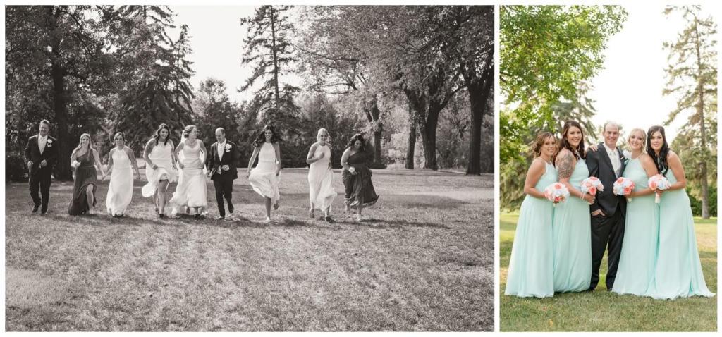 Regina Wedding Photographer - Gord-Mackenzie - Bridal Party - Regina Rotary Park