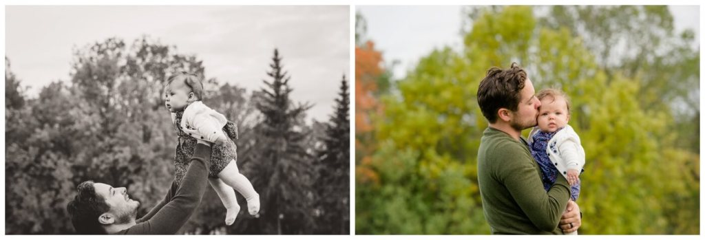 Regina Family Photographer - Joel-Heather-Heidi - Fall Family Session - Daddy's Girl - Wascana Park