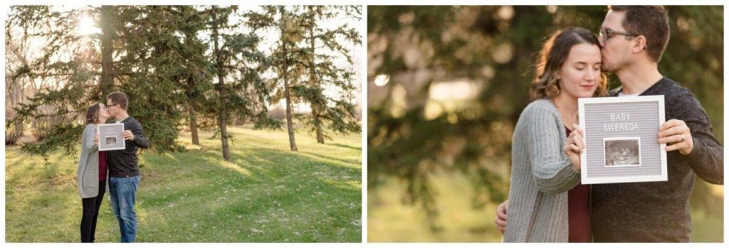 Regina Family Photographers - Teala-Jarrett - Baby Announcement - Fall Family Session - Les Sherman Park
