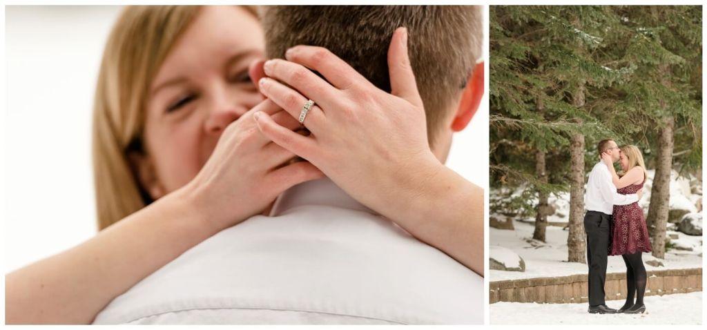 Regina Engagement Photographer - Dave-Sarah - Winter Engagement Session - Kiwanis Park Regina