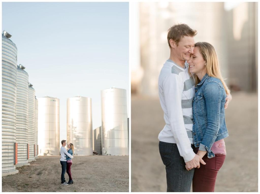 Regina Family Photographer - Neufeld Family - Mike-Tamzyn - Fall Family Session - Farmyard - Waldheim