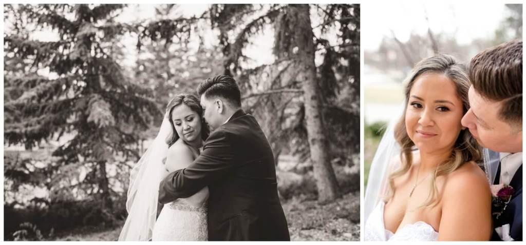 Regina Wedding Photographers - Laurie - Destiny - Fall Wedding - MacKenzie Art Gallery - First Snow - Bride & Groom Creatives