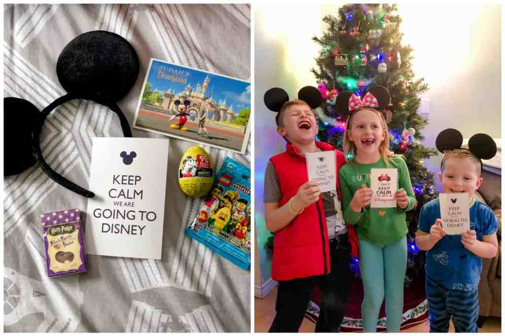 Regina Wedding Photographer - The Liskes in SoCal - Liske Family - Disneyland - Announcement