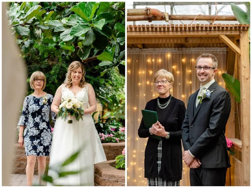 Regina Wedding Photographers - Dave - Sarah - Wedding - Regina Floral Conservatory - First Glimpse - Pure Joy