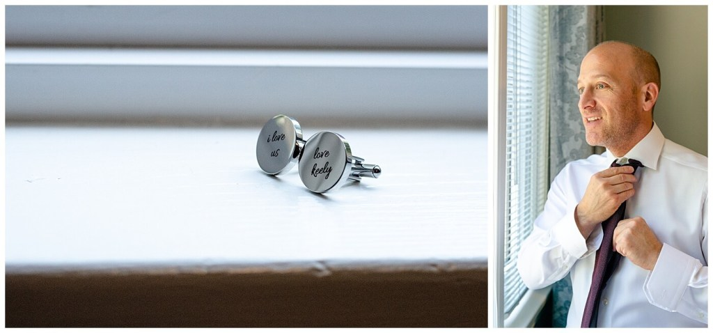 Scott & Keely - Regina Wedding - Custom Cufflinks