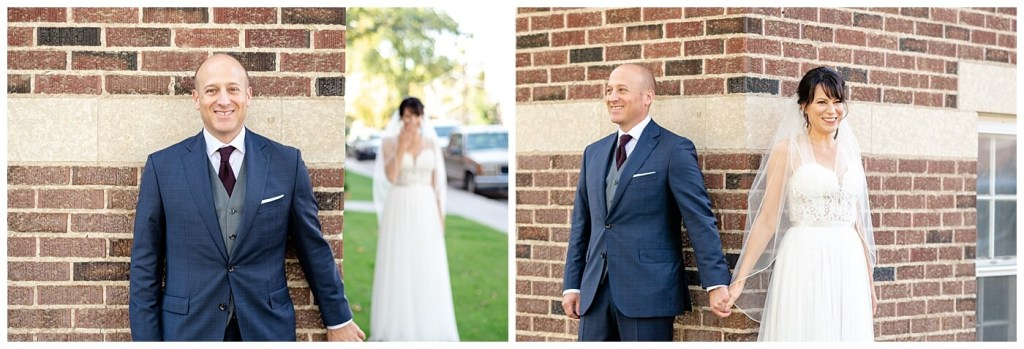 Scott & Keely - Regina Wedding - Brownstone Building First Look