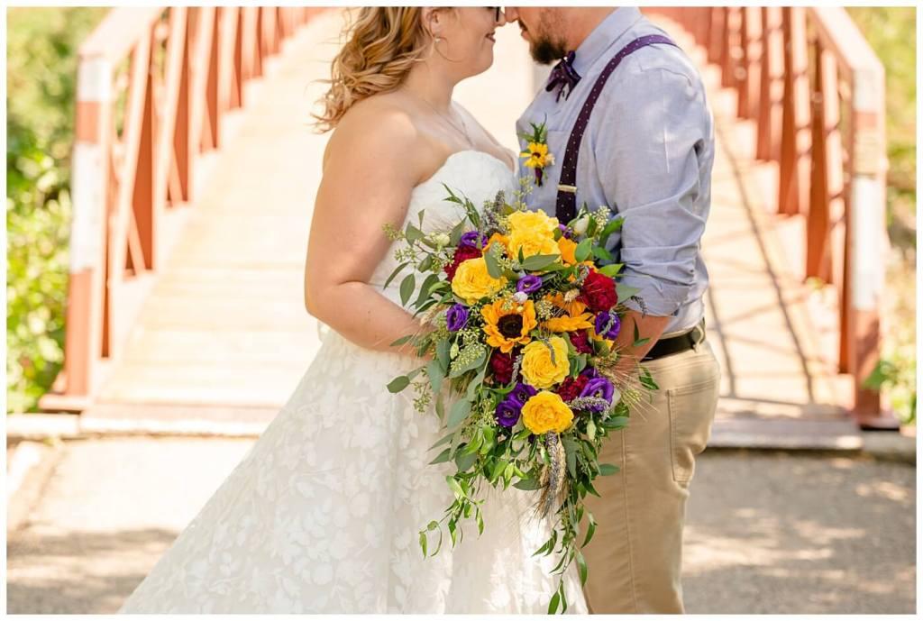 Regina Wedding Photography - Ryan - Aeliesha - Fall bouquet from Wascana Flower Shoppe Regina