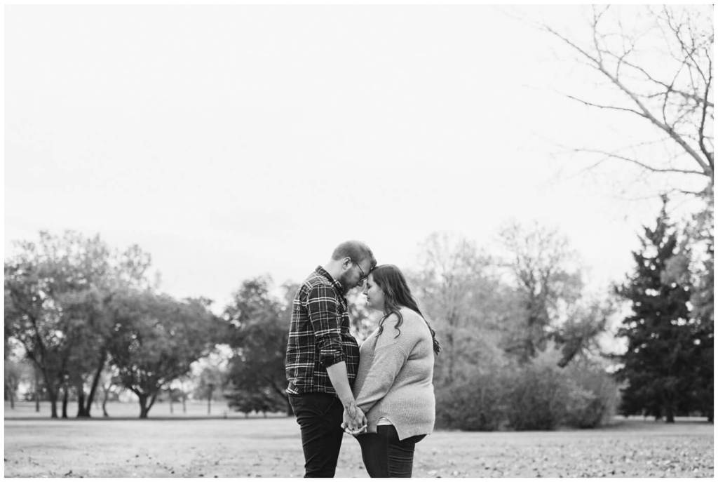 Regina Engagement Photographer - Kolton & Maxine - 012 - Praying over relationship