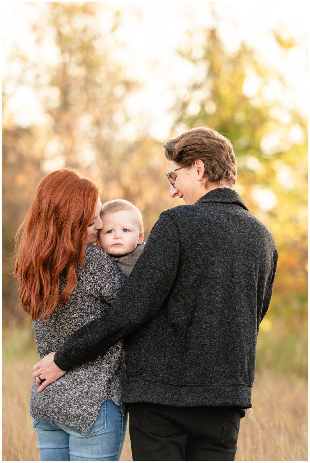 Regina Family Photography - McFie family - 006 - Child not interested in photos