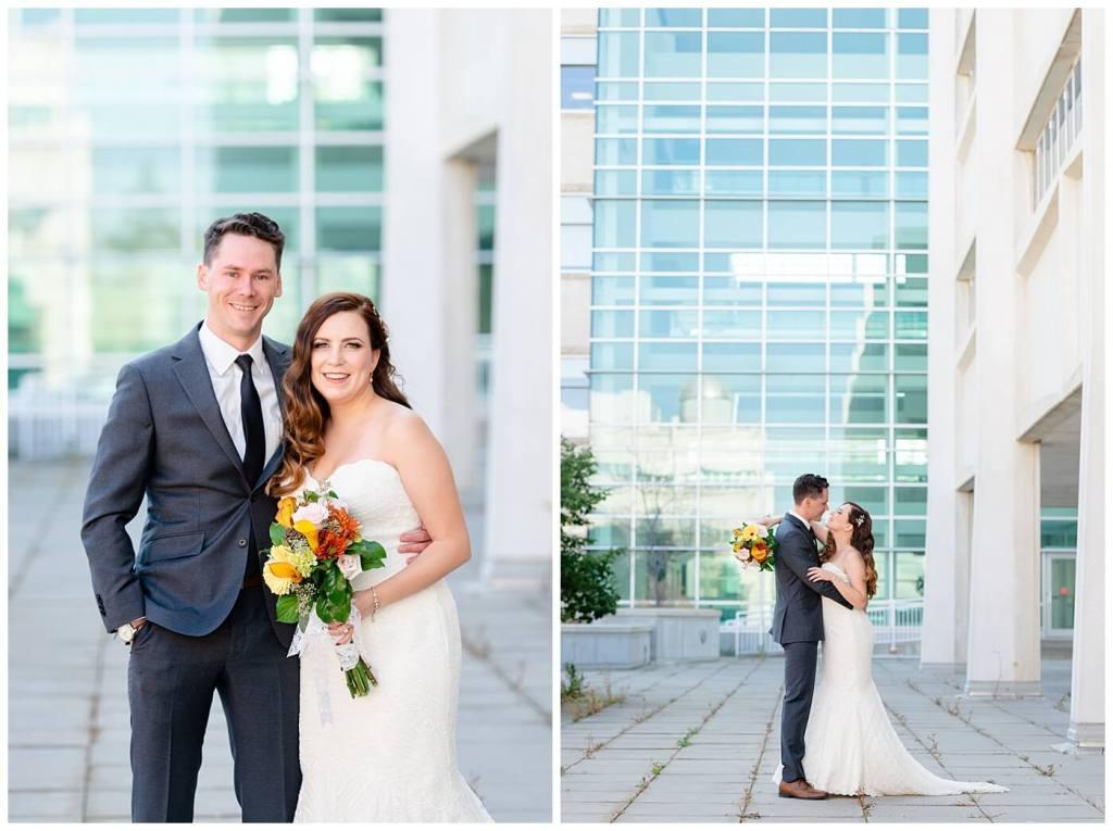 Regina Wedding Photographer - Tim & Jennelle At Home Wedding - University of Regina Bride & Groom Portraits