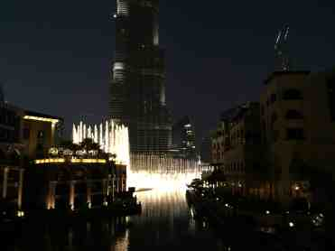 Dancing Fountains & Burj Khalifa