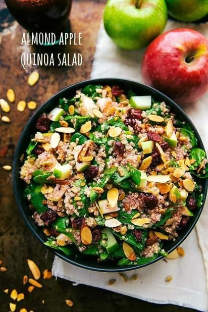 Simple-Almond-Apple-Salad-with-Quinoa