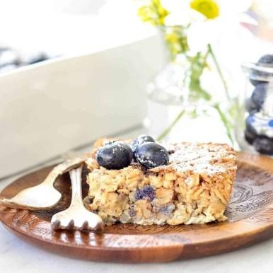 Healthy Blueberry Granola Bar