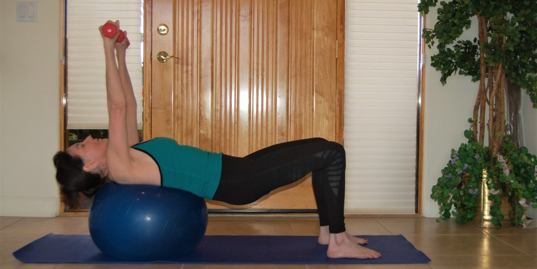 Chest Press With Exercise Ball