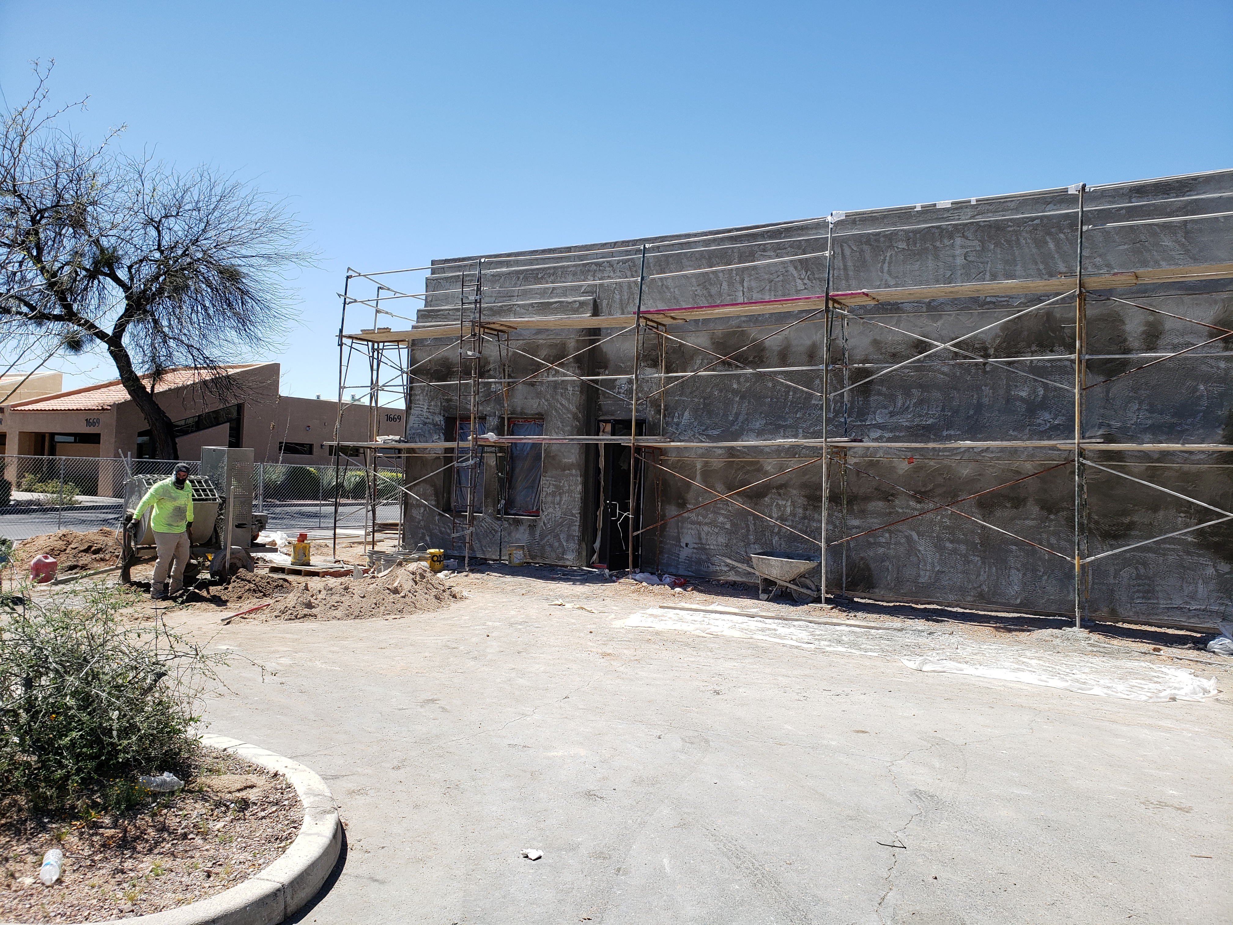 Exterior of the building site at Courtney Medical Group