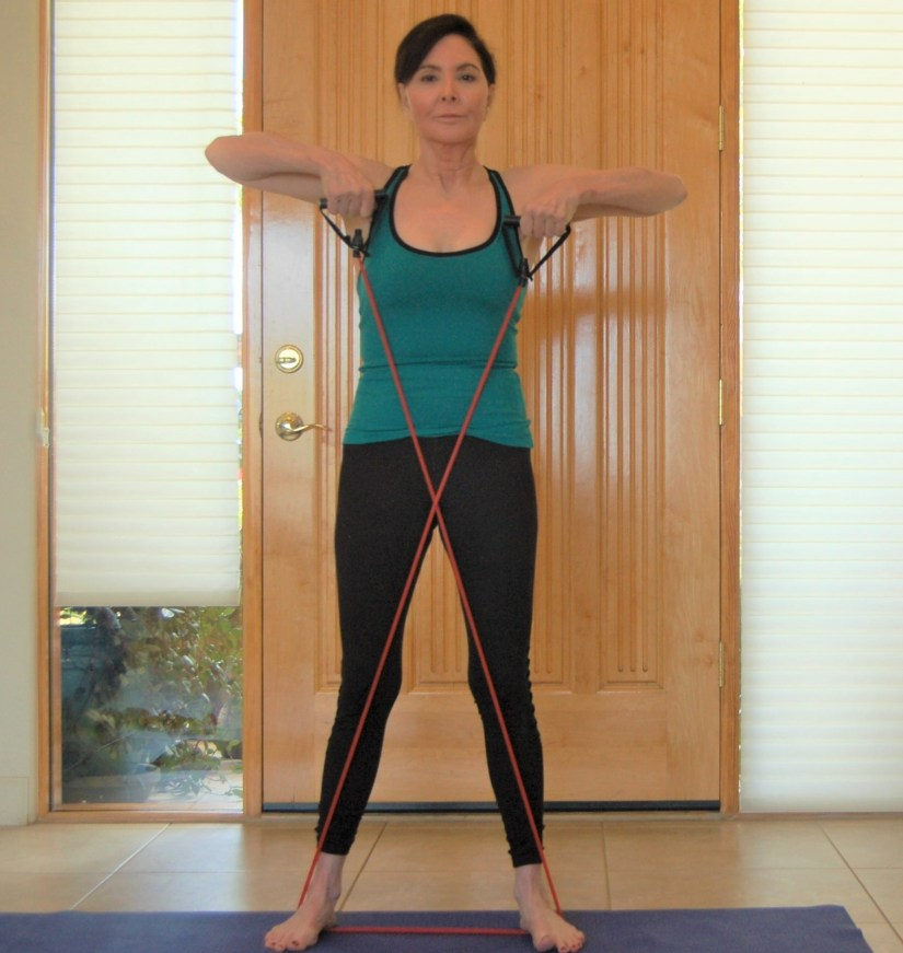 Exercise Of The Week: Resistance Band Upright Rows