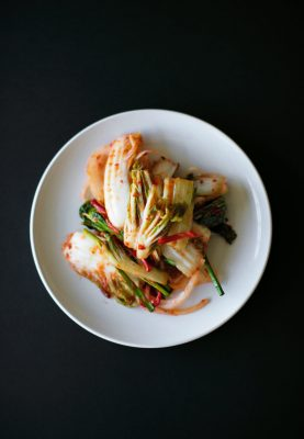 A traditional Korean food, Kimchi has an incredible amount of health benefits due to the probiotics.