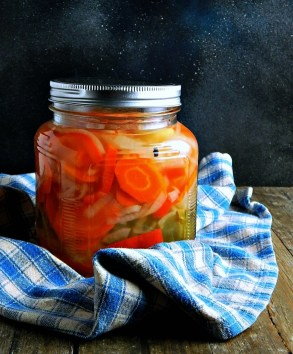 Escabeche, or Mexican pickled vegetables, is one way to consume probiotics, when made with a saltwater brine.