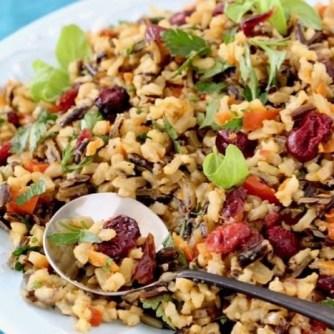 Thanksgiving wild rice