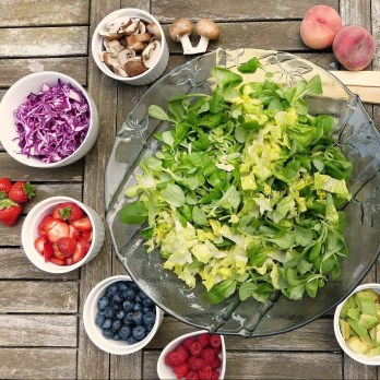 fruits and vegetables are heart healthy