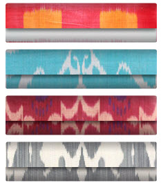 ikat fabrics bright colors