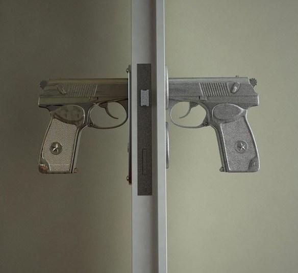 gun door knob