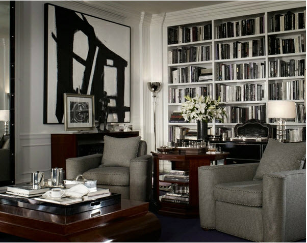 white interior RALPH LAUREN
