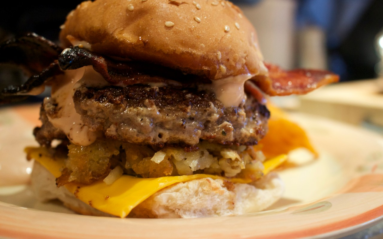 The No Fuss, Bacon Cheeseburger
