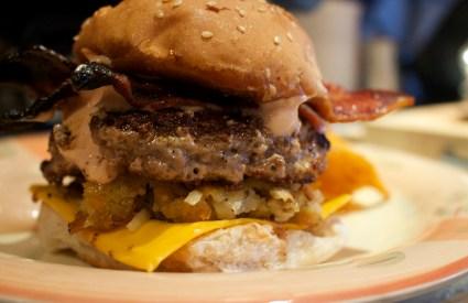 The No Fuss, Bacon Cheeseburger