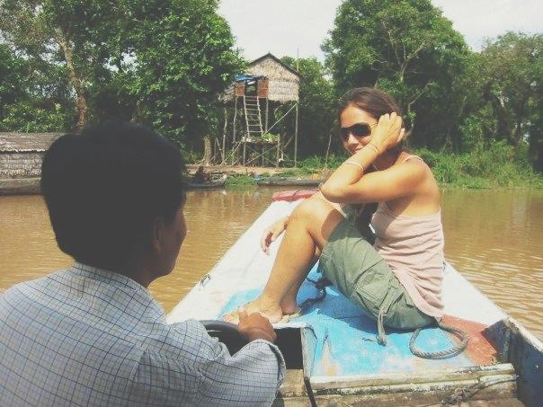 Courtney Scott Thailand Siam Reap Boat