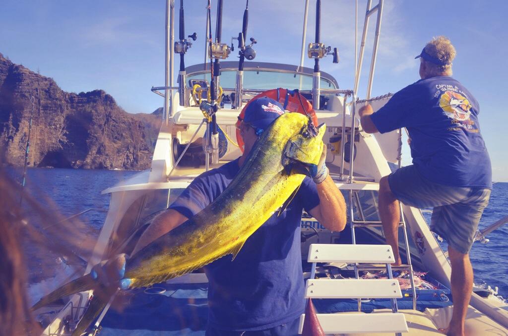 Mahi Mahi Deep Sea Fising Kauai