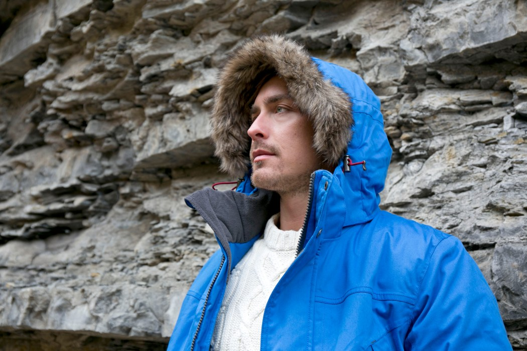 DJORDJE MOUNTAIN JACKET BLUE