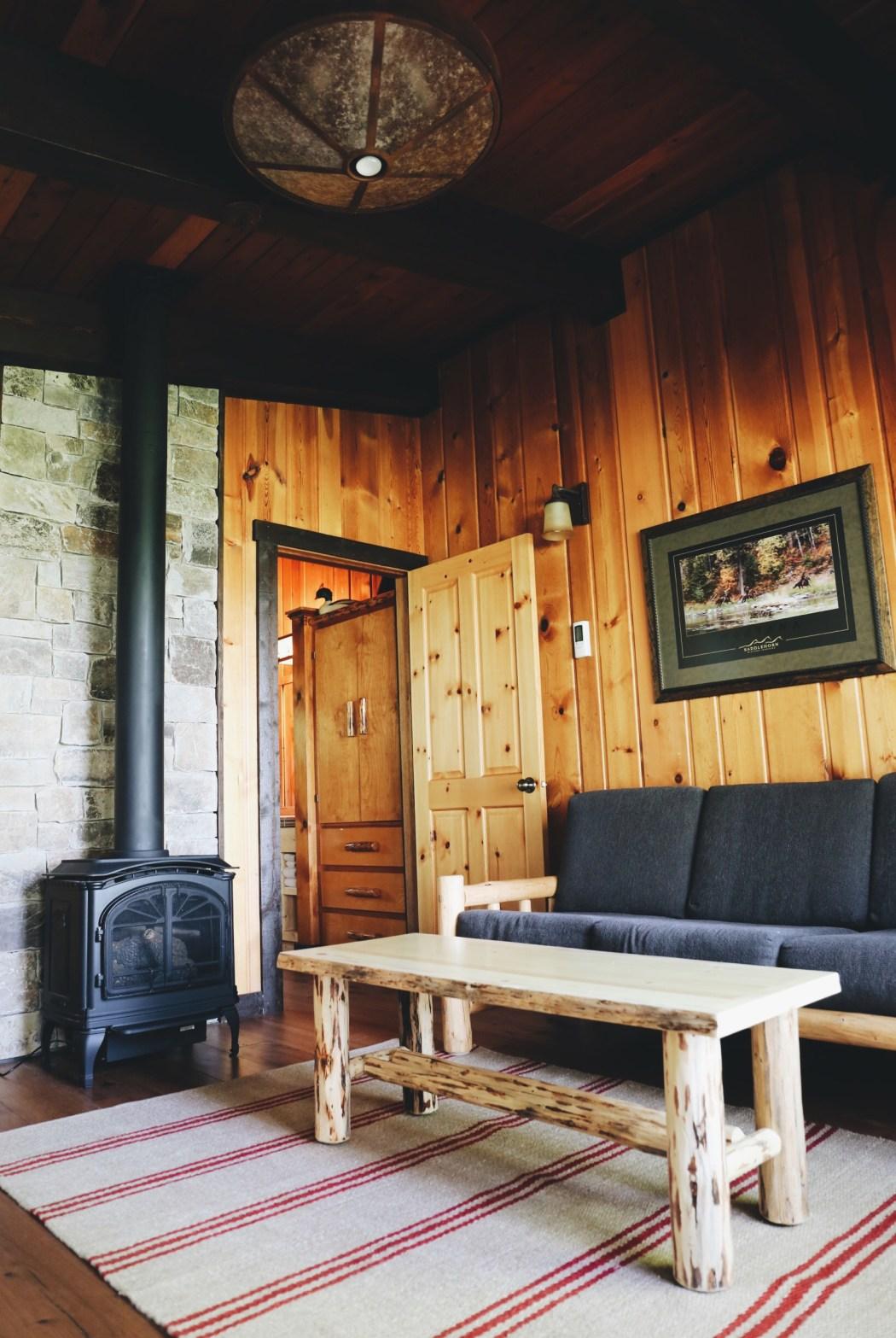 Flathead Lake Loge cabin