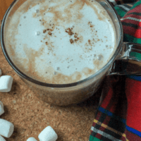 -Brown Sugar Vegan Hot Chocolate-