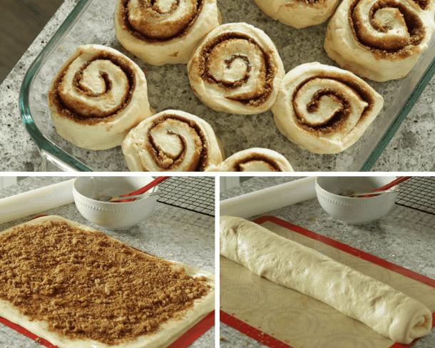 Making the best vegan cinnamon rolls