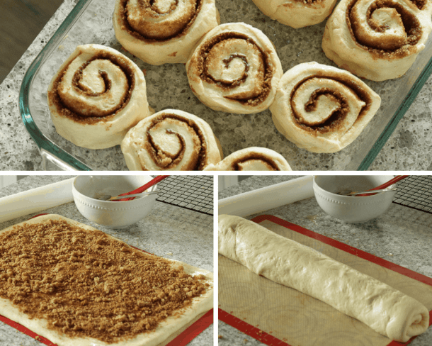 Making the best vegan cinnamon rolls