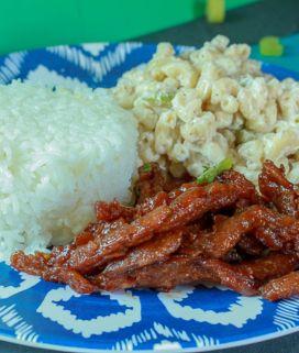Vegan Hawaiian Teriyaki Chicken