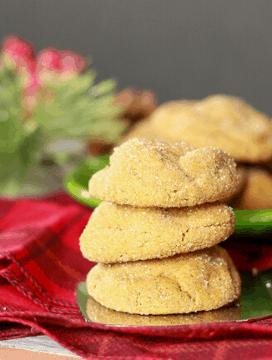 Delicious Vegan Ginger Molasses Cookies