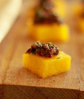 Olive Polenta Bites